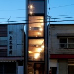 Tổng thể căn nhà nhìn từ bên ngoài