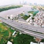 Tp.HCM điều chỉnh quy hoạch đô thị khu vực đầu cầu Thủ Thiêm
